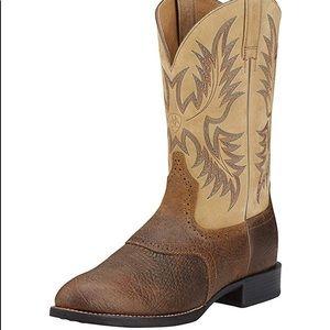 Arait Brown cowboy  Boots style/western stockman